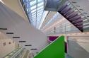 Geschäftshaus City Bernina in Zürich-Oerlikon. Im oberen Stockwerk ist die Interkantonale Hochschule für Heilpädagogik (HfH) domiziliert. Architekten: Atelier WW (Walter Wäschle, Urs Wüst, Rolf Wüst), Zürich
